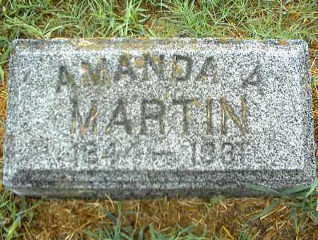 MARTIN, AMANDA A. - Nowata County, Oklahoma | AMANDA A. MARTIN - Oklahoma Gravestone Photos