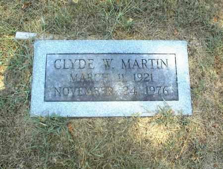 MARTIN, CLYDE W. - Nowata County, Oklahoma | CLYDE W. MARTIN - Oklahoma Gravestone Photos