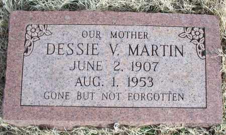 MARTIN, DESSIE V. - Nowata County, Oklahoma | DESSIE V. MARTIN - Oklahoma Gravestone Photos