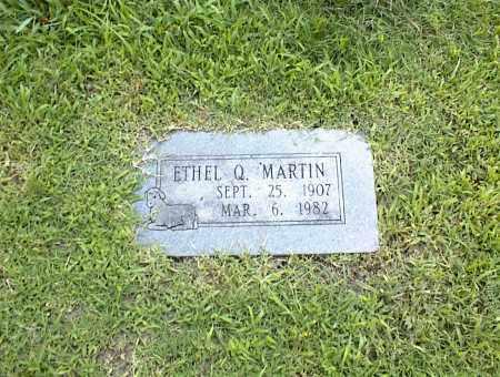 MARTIN, ETHEL Q. - Nowata County, Oklahoma   ETHEL Q. MARTIN - Oklahoma Gravestone Photos