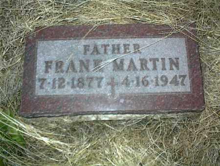 MARTIN, FRANK - Nowata County, Oklahoma   FRANK MARTIN - Oklahoma Gravestone Photos
