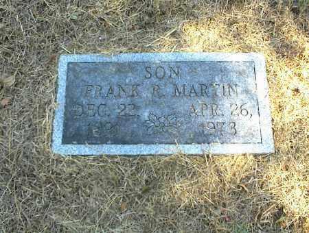 MARTIN, FRANK R. - Nowata County, Oklahoma | FRANK R. MARTIN - Oklahoma Gravestone Photos