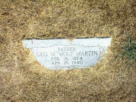 MARTIN, GEO W. - Nowata County, Oklahoma | GEO W. MARTIN - Oklahoma Gravestone Photos