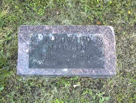 MARTIN, J. EDWARD - Nowata County, Oklahoma | J. EDWARD MARTIN - Oklahoma Gravestone Photos
