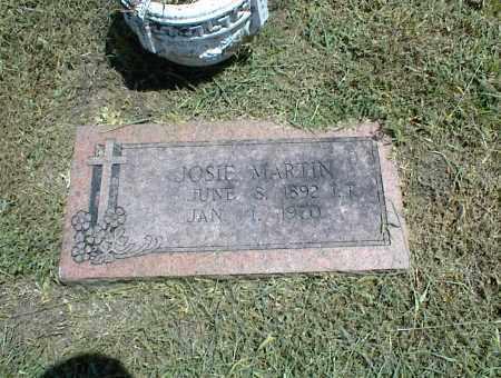 MARTIN, JOSIE - Nowata County, Oklahoma | JOSIE MARTIN - Oklahoma Gravestone Photos