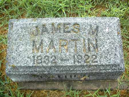MARTIN, JAMES M. - Nowata County, Oklahoma | JAMES M. MARTIN - Oklahoma Gravestone Photos