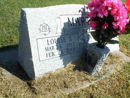 MARTIN, LOUISE S. - Nowata County, Oklahoma | LOUISE S. MARTIN - Oklahoma Gravestone Photos