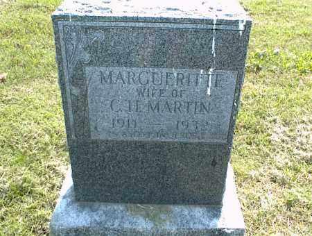MARTIN, MARGUERITTE - Nowata County, Oklahoma   MARGUERITTE MARTIN - Oklahoma Gravestone Photos
