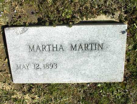 MARTIN, MARTHA - Nowata County, Oklahoma   MARTHA MARTIN - Oklahoma Gravestone Photos
