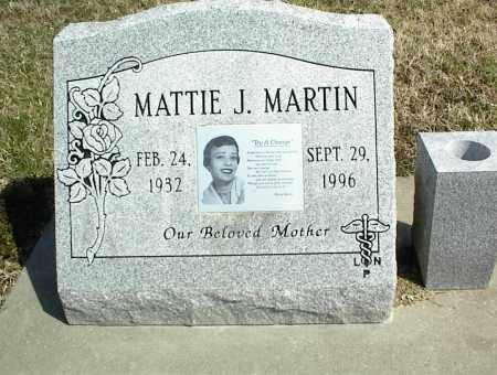 MARTIN, MATTIE J. - Nowata County, Oklahoma | MATTIE J. MARTIN - Oklahoma Gravestone Photos