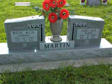 MARTIN, JAMES GALE - Nowata County, Oklahoma | JAMES GALE MARTIN - Oklahoma Gravestone Photos