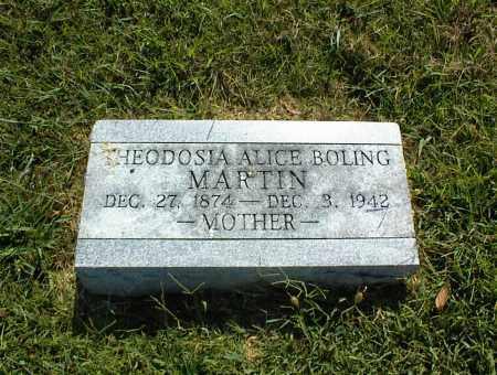 MARTIN, THEODOSIA ALICE - Nowata County, Oklahoma   THEODOSIA ALICE MARTIN - Oklahoma Gravestone Photos