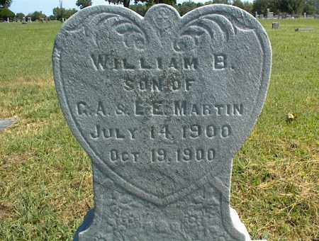 MARTIN, WILLIAM B. - Nowata County, Oklahoma | WILLIAM B. MARTIN - Oklahoma Gravestone Photos