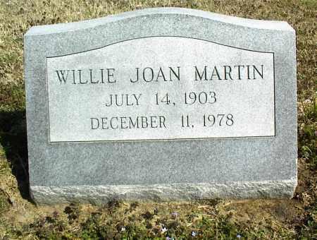 MARTIN, WILLIE JOAN - Nowata County, Oklahoma | WILLIE JOAN MARTIN - Oklahoma Gravestone Photos