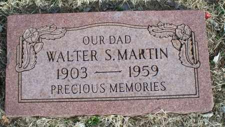 MARTIN, WALTER S. - Nowata County, Oklahoma | WALTER S. MARTIN - Oklahoma Gravestone Photos