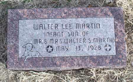 MARTIN, WALTER LEE - Nowata County, Oklahoma | WALTER LEE MARTIN - Oklahoma Gravestone Photos
