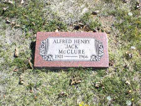 MCCLURE, ALFRED HENRY - Nowata County, Oklahoma | ALFRED HENRY MCCLURE - Oklahoma Gravestone Photos
