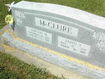 MCCLURE, VERNON H. - Nowata County, Oklahoma | VERNON H. MCCLURE - Oklahoma Gravestone Photos