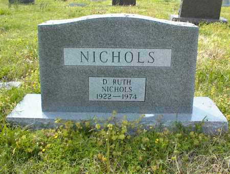 NICHOLS, D. RUTH - Nowata County, Oklahoma | D. RUTH NICHOLS - Oklahoma Gravestone Photos