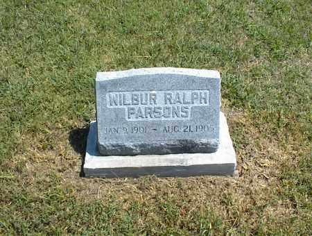 PARSONS, WILBUR RALPH - Nowata County, Oklahoma | WILBUR RALPH PARSONS - Oklahoma Gravestone Photos