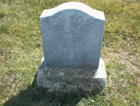 PIERCE, DAU - Nowata County, Oklahoma | DAU PIERCE - Oklahoma Gravestone Photos