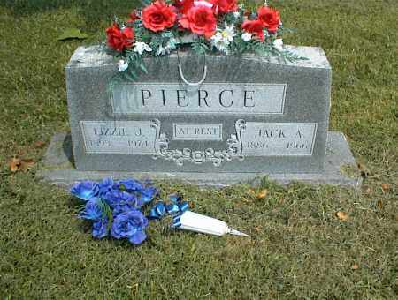 PIERCE, JACK A. - Nowata County, Oklahoma | JACK A. PIERCE - Oklahoma Gravestone Photos