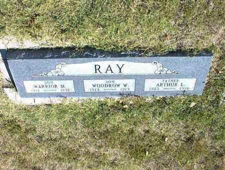 RAY, WOODROW W. - Nowata County, Oklahoma | WOODROW W. RAY - Oklahoma Gravestone Photos