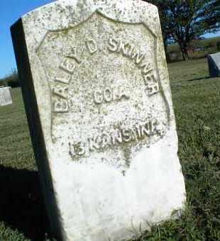 SKINNER, BALEY D. - Nowata County, Oklahoma | BALEY D. SKINNER - Oklahoma Gravestone Photos