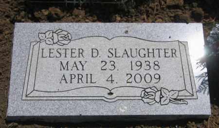 SLAUGHTER, LESTER D. - Nowata County, Oklahoma | LESTER D. SLAUGHTER - Oklahoma Gravestone Photos