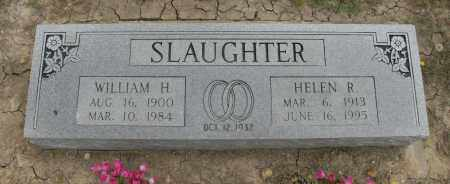 SLAUGHTER, WILLIAM H. - Nowata County, Oklahoma | WILLIAM H. SLAUGHTER - Oklahoma Gravestone Photos