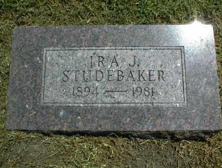 STUDEBAKER, IRA J. - Nowata County, Oklahoma   IRA J. STUDEBAKER - Oklahoma Gravestone Photos