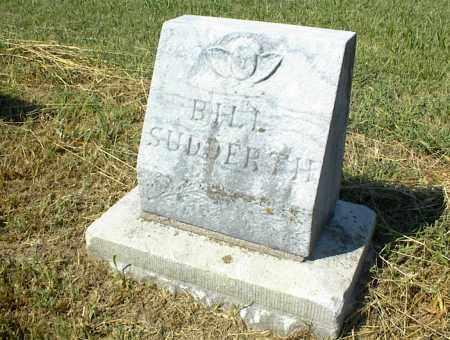 SUDDERTH, BILL - Nowata County, Oklahoma | BILL SUDDERTH - Oklahoma Gravestone Photos
