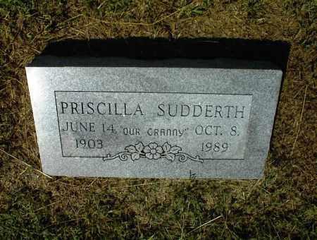 SUDDERTH, PRISCILLA - Nowata County, Oklahoma | PRISCILLA SUDDERTH - Oklahoma Gravestone Photos
