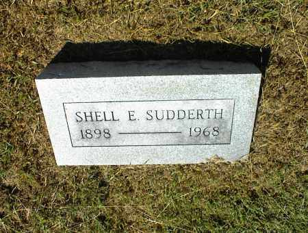 SUDDERTH, SHELL E. - Nowata County, Oklahoma | SHELL E. SUDDERTH - Oklahoma Gravestone Photos