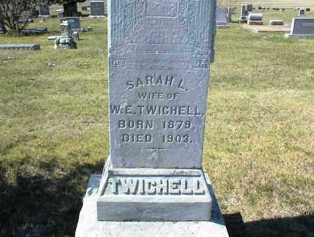 TWICHELL, SARAH L. - Nowata County, Oklahoma   SARAH L. TWICHELL - Oklahoma Gravestone Photos
