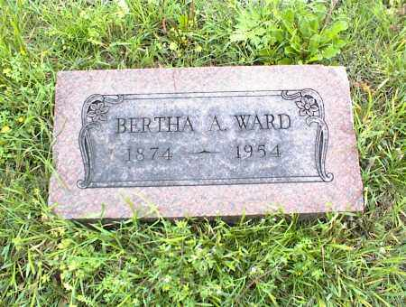 WARD, BERTHA A. - Nowata County, Oklahoma | BERTHA A. WARD - Oklahoma Gravestone Photos