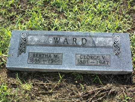 WARD, GEORGE V. - Nowata County, Oklahoma | GEORGE V. WARD - Oklahoma Gravestone Photos