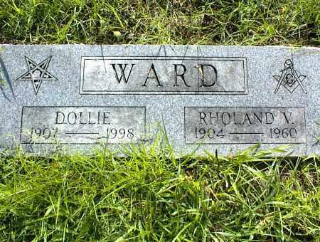 WARD, RHOLAND V. - Nowata County, Oklahoma | RHOLAND V. WARD - Oklahoma Gravestone Photos