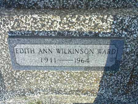 WARD, EDITH ANN - Nowata County, Oklahoma | EDITH ANN WARD - Oklahoma Gravestone Photos