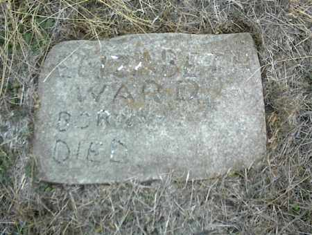 WARD, ELIZABETH - Nowata County, Oklahoma   ELIZABETH WARD - Oklahoma Gravestone Photos