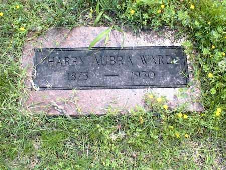 WARD, HARRY AUBRA - Nowata County, Oklahoma | HARRY AUBRA WARD - Oklahoma Gravestone Photos