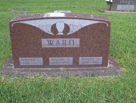 WARD, BERTHA - Nowata County, Oklahoma | BERTHA WARD - Oklahoma Gravestone Photos