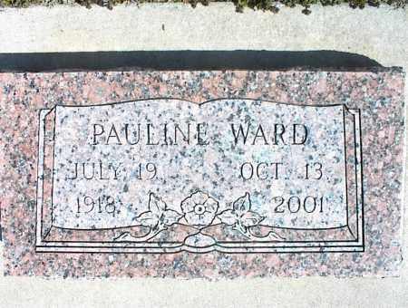 WARD, PAULINE - Nowata County, Oklahoma | PAULINE WARD - Oklahoma Gravestone Photos