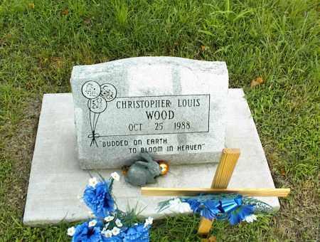 WOOD, CHRISTOPHER LOUIS - Nowata County, Oklahoma   CHRISTOPHER LOUIS WOOD - Oklahoma Gravestone Photos