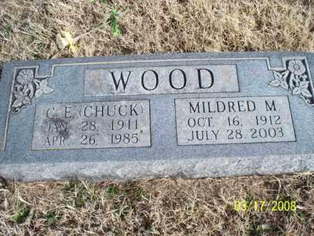 WOOD, MILDRED M. - Nowata County, Oklahoma   MILDRED M. WOOD - Oklahoma Gravestone Photos