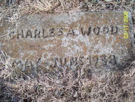 WOOD, CHARLES A. - Nowata County, Oklahoma | CHARLES A. WOOD - Oklahoma Gravestone Photos