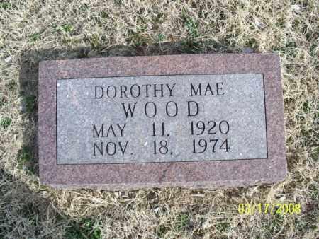 WOOD, DOROTHY MAE - Nowata County, Oklahoma   DOROTHY MAE WOOD - Oklahoma Gravestone Photos