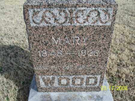 WOOD, MARY - Nowata County, Oklahoma | MARY WOOD - Oklahoma Gravestone Photos