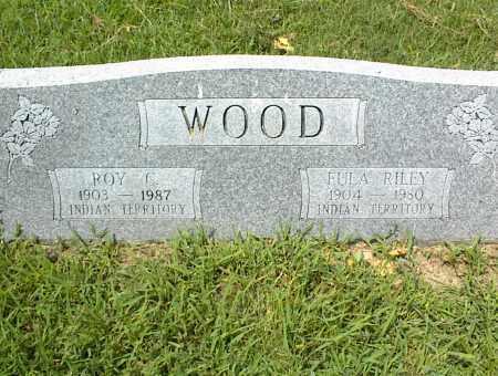 WOOD, ROY - Nowata County, Oklahoma | ROY WOOD - Oklahoma Gravestone Photos