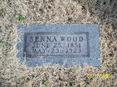 WOOD, SENNA - Nowata County, Oklahoma | SENNA WOOD - Oklahoma Gravestone Photos